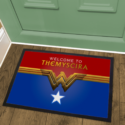 Themyscira Amazonians Welcome Mat DC Wonder Woman Design Doormat